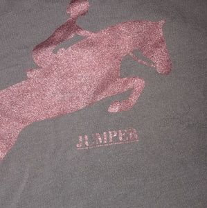 Equestrian training tee